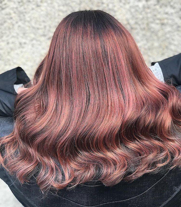 Rose Brown Hair is The Prettiest Spring Trend for ...