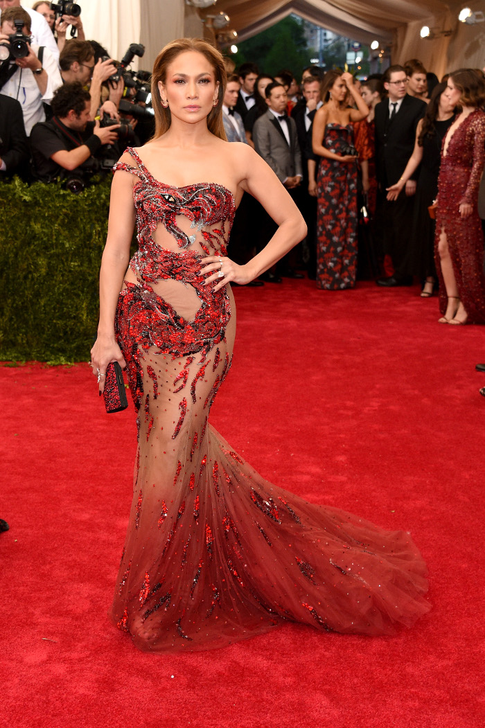 The Most Iconic Met Gala Dresses of All Time Jennifer Lopez