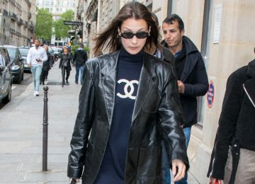 Bella Hadid Takes The Logo Obsession to a Classy Level