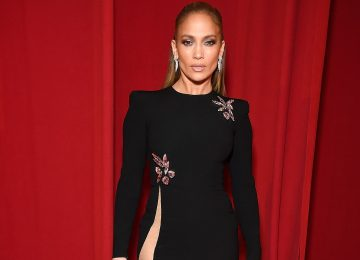 Jennifer Lopez Just Wore A Dress With The Highest Slit You've Ever Seen