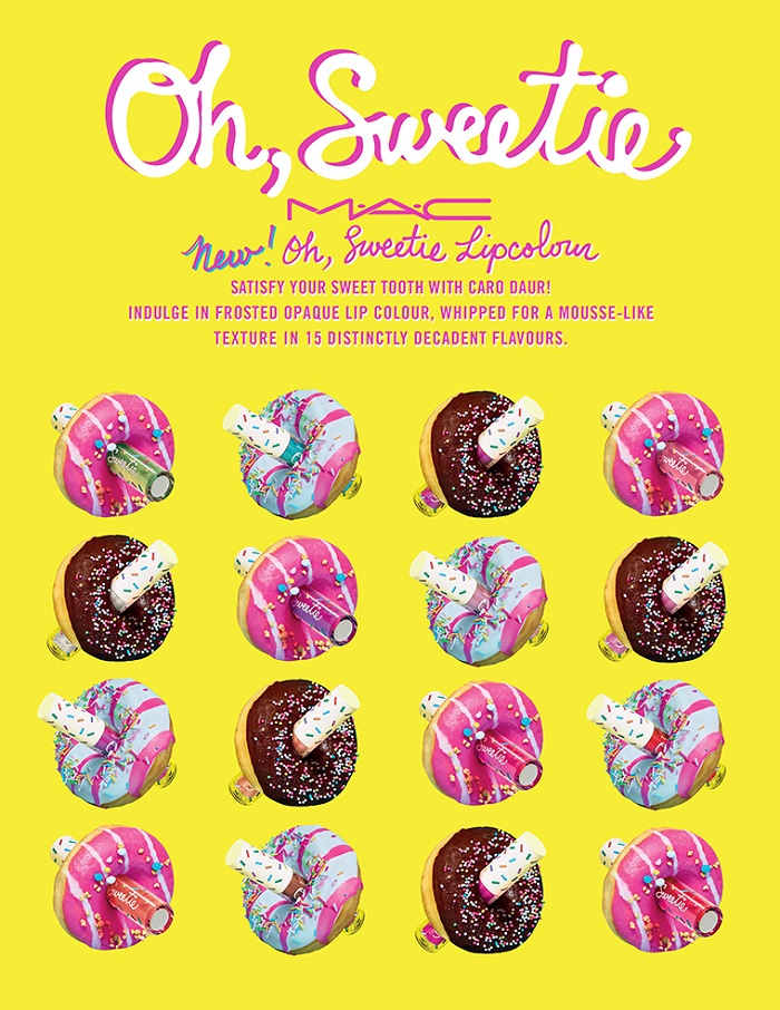 "MAC Drops ""Oh Sweetie"" Lip Gloss Collection donuts"