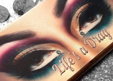 "Manny MUA Drops Lunar Beauty's ""Life's A Drag"" Eyeshadow Palette"