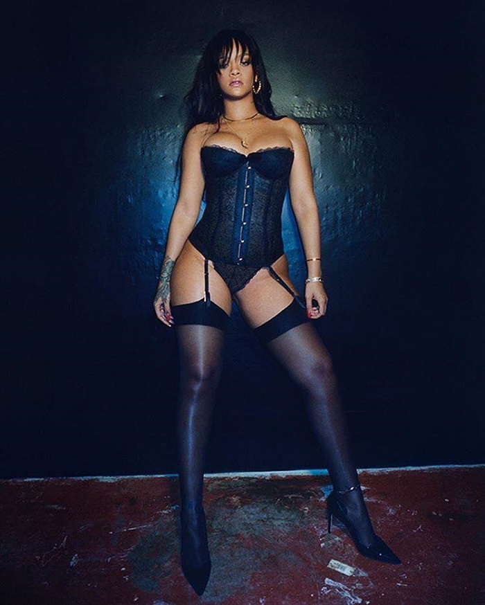 Rihanna's Fenty x Savage Is Finally Here black corset