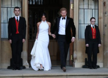 What Went Down At The Private Royal Wedding Reception