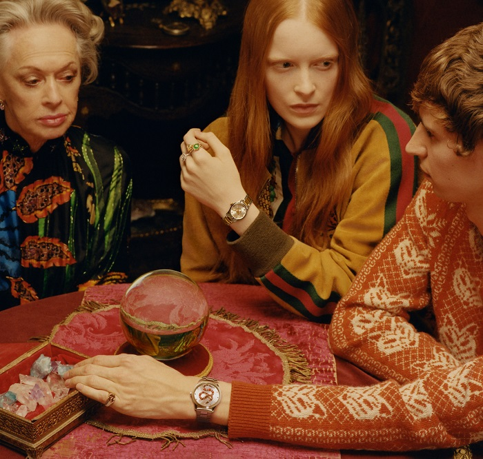 Tippi Hedren Fronts Gucci's Jewelry Campaign at 88 rings bracelets watches