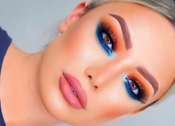 Colorful Makeup Looks to Rock at A Summer Party