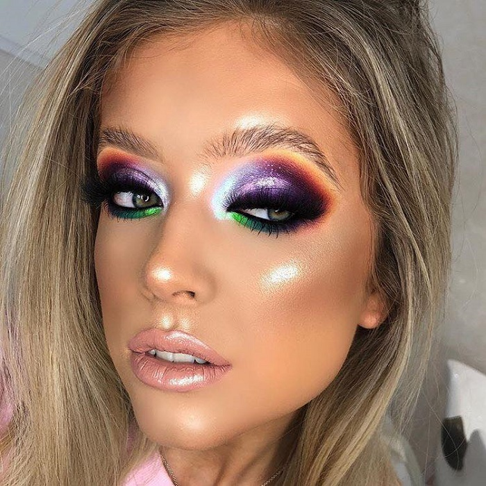 Colorful Makeup Looks To Rock At A Summer Party Page 3