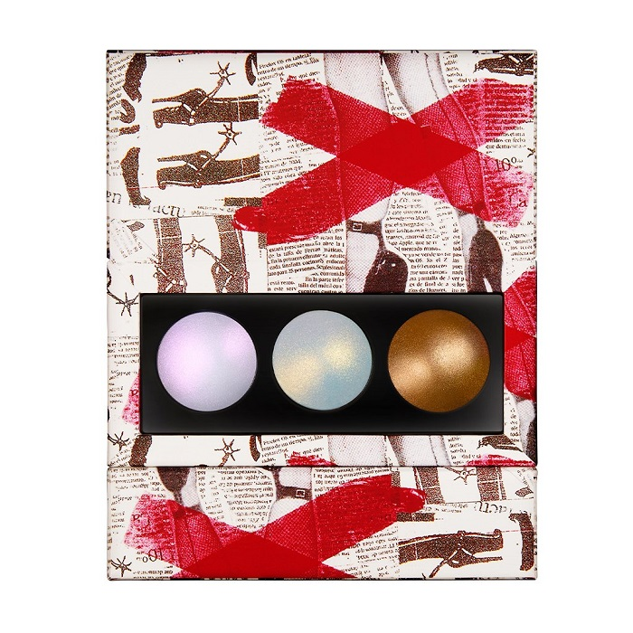 "Pat McGrath Launches ""Skin Fetish"" Collection powder highlighter trio"