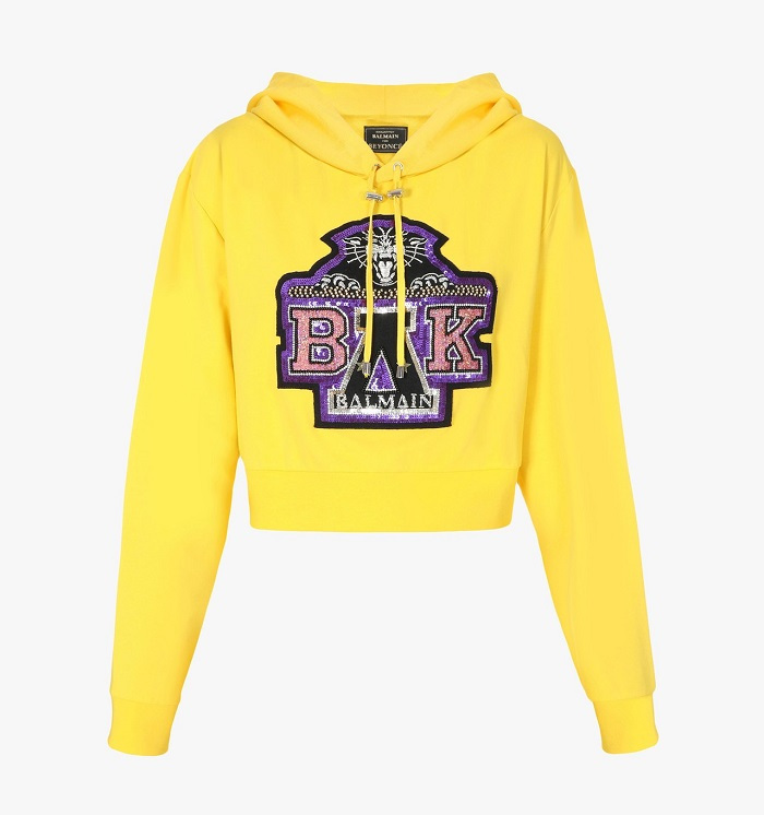 Beyoncé & Balmain To Release Charitable Coachella-Inspired Merch hoodie