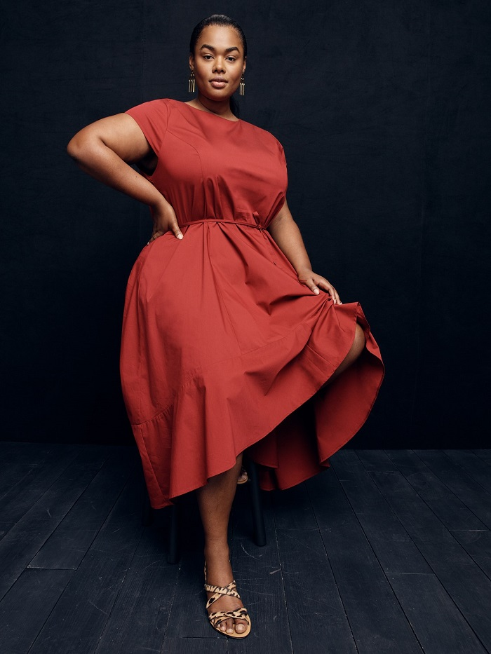 J. Crew's New Collection Has Sizes Up To 5X red dress