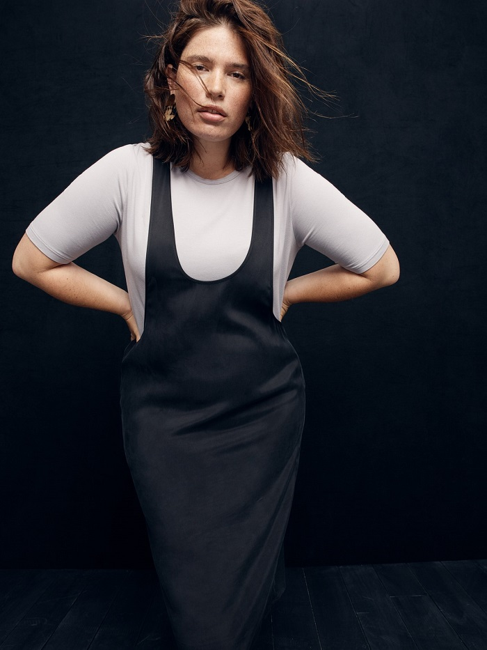 J. Crew's New Collection Has Sizes Up To 5X dress grey top