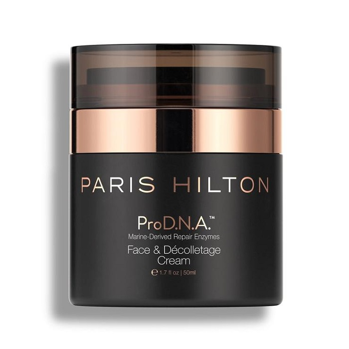 Paris Hilton's ProD.N.A. Skincare Line Is Finally Here face cream