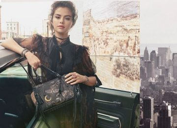 Selena Gomez Fronts Coach's Fall 2018 Ads