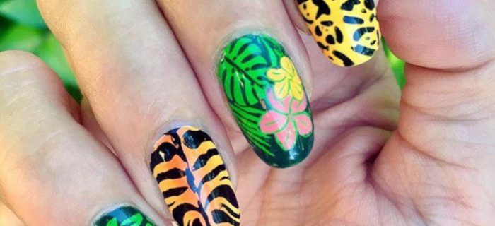 Summer Mood: Tropical Nail Designs