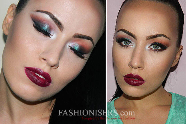 Vampy Party Makeup Tutorial for New Year's Eve