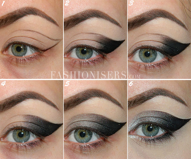 Dramatic Cat Eye Makeup Tutorial Fashionisers