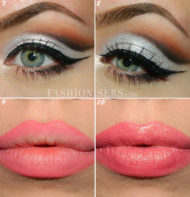 Metallic Silver Bridal Makeup Tutorial