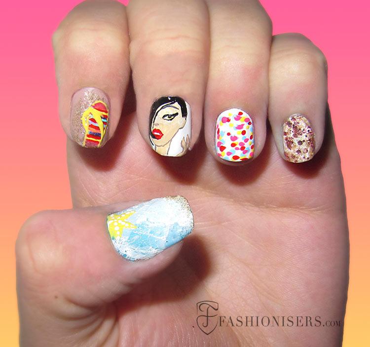 20 Fun Summer Nail Art Designs