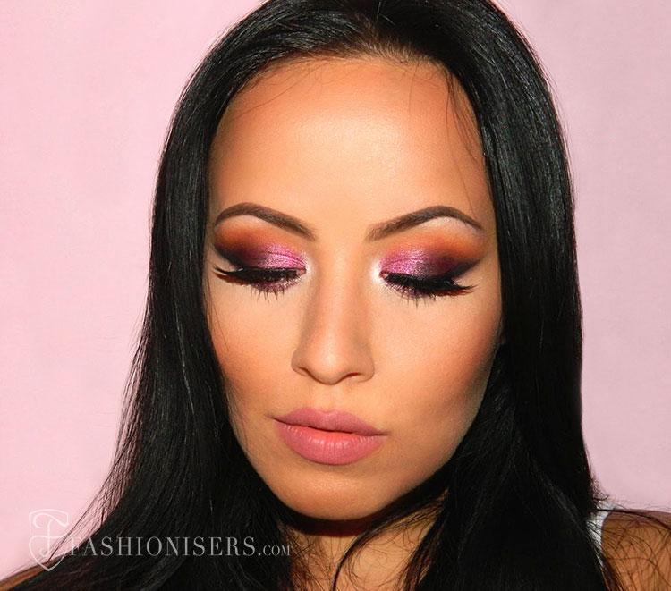 Pretty Pansy Purple Smokey Eye Makeup Tutorial