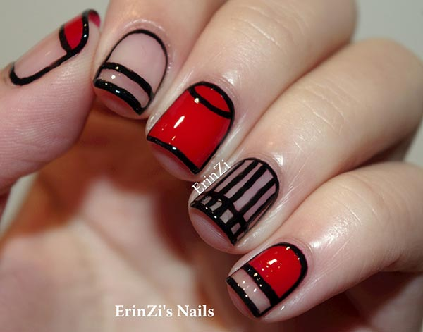 101 Classy Nail Art Designs For Short Nails Fashionisers C