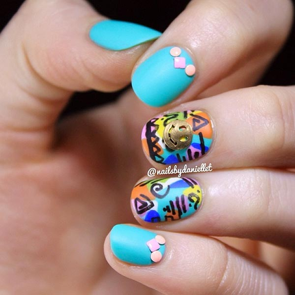 Easy Hunting Nail Designs