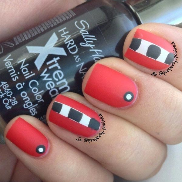 80 Classy Nail Art Designs for Short Nails - 101 Classy Nail Art Designs For Short Nails Fashionisers©