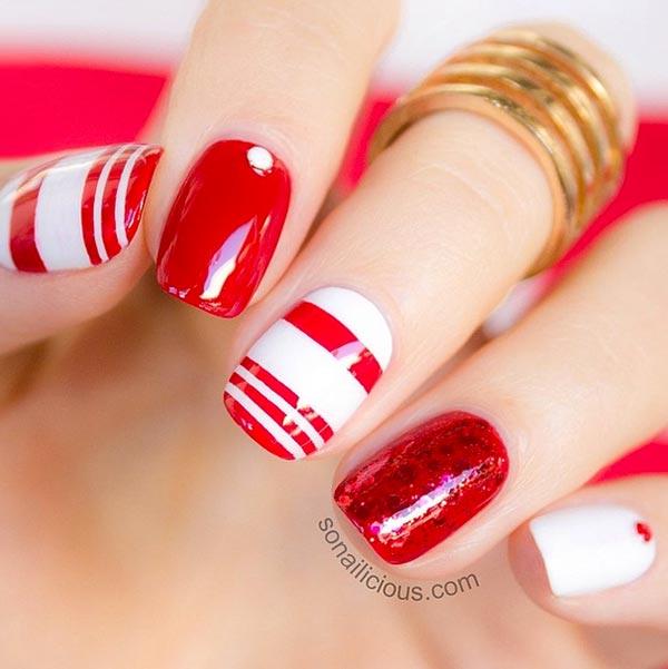 101 Classy Nail Art Designs For Short Nails Fashionisers C