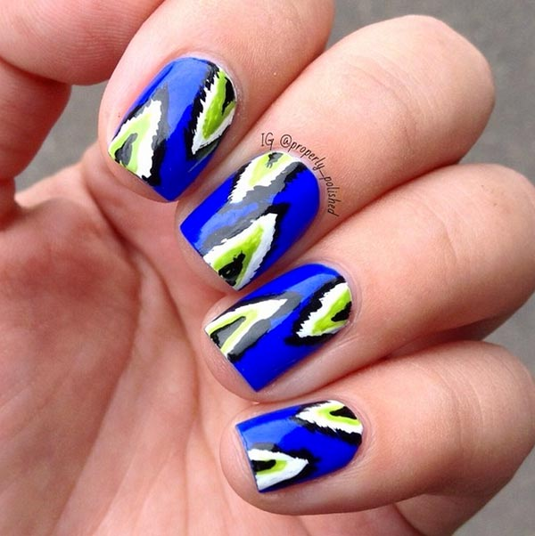 80 Classy Nail Art Designs for Short Nails