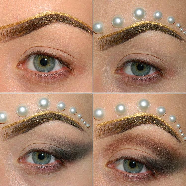 Greek Golden Goddess Halloween Makeup Tutorial Fashionisers C