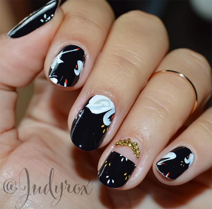 101 Classy Nail Art Designs for Short Nails | Fashionisers©