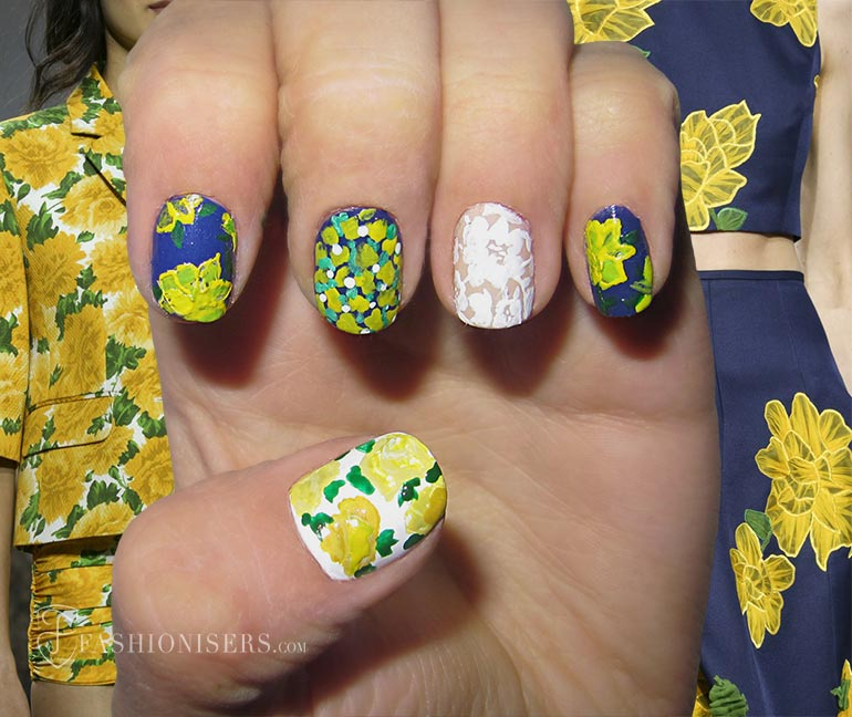 Nail Art Designs Inspired From Spring 2015 Runway: Michael Kors