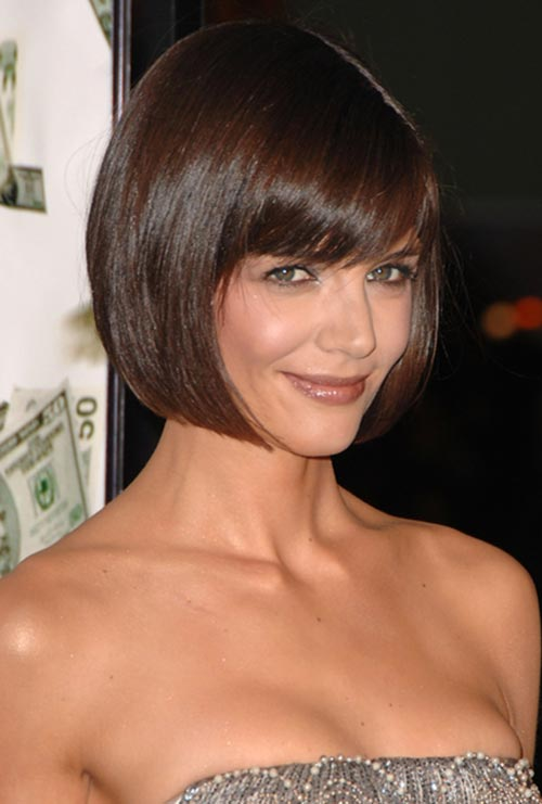 Timeless Hairstyles for Women That Will Never Get Out of Style: Katie Holmes