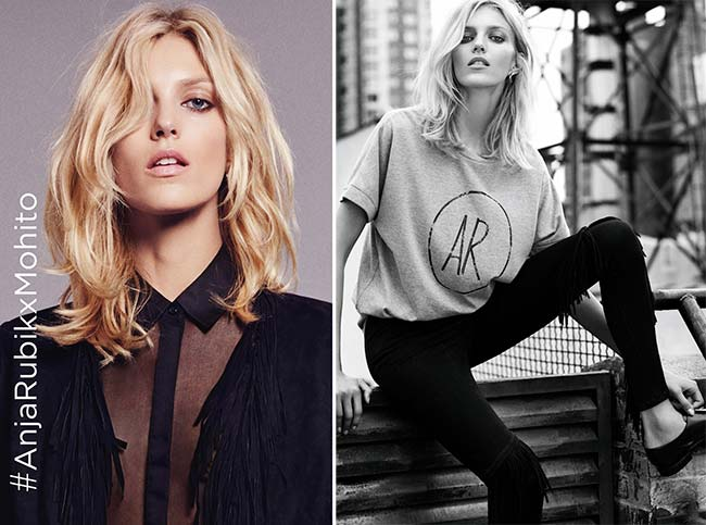 Anja Rubik for Mohito Collection