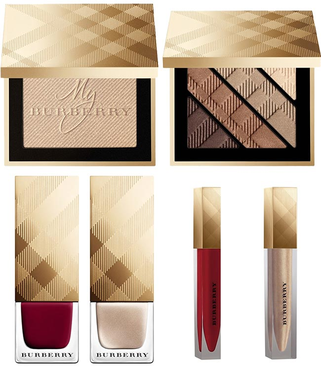Burberry Winter Glow Holiday 2014 Makeup Collection