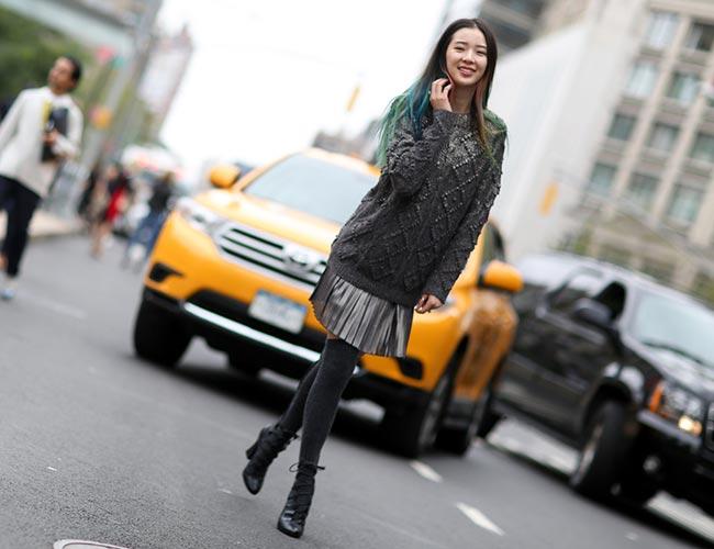 Irene Kim's Vibrant Street Style Looks