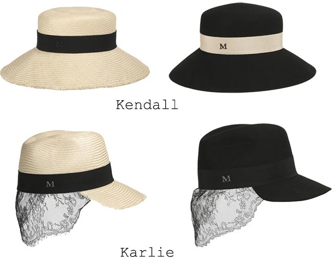 Karl Lagerfeld Designs Hats for Maison Michel