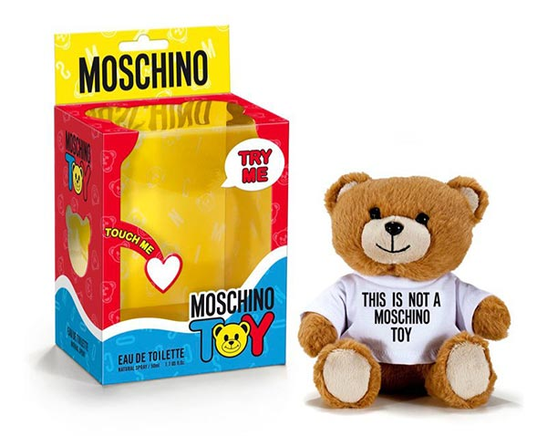 Jeremy Scott's New Moschino Teddy Toy Fragrance