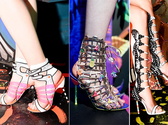 Sophia Webster's Spring 2015 Shoes