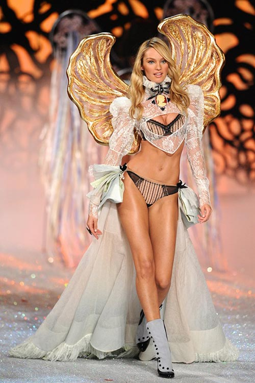 Victoria's Secret Angels Exercise Routines: Candice Swanepoel