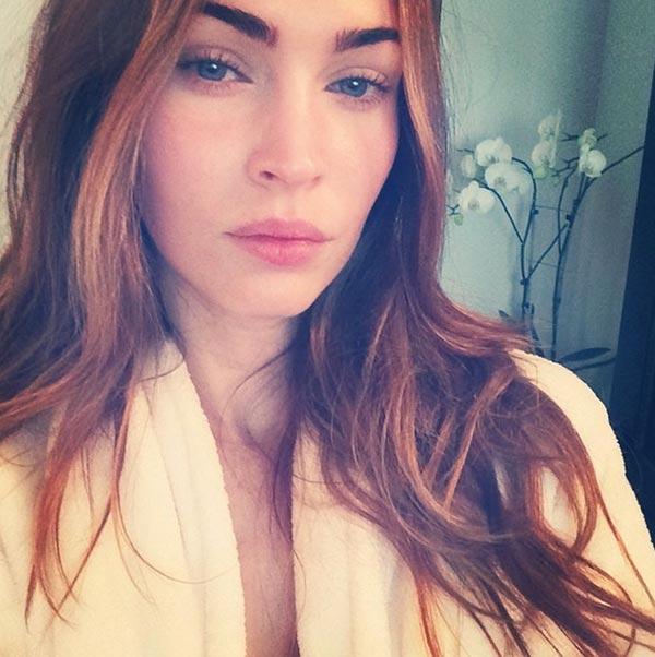 Celebrities Without Makeup: Megan Fox