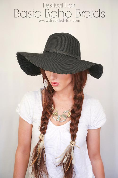 8 Easy and Cute Hairstyles for Lazy Girls: Boho Braids