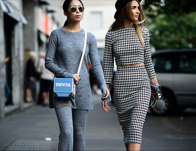 How to Wear Houndstooth Prints