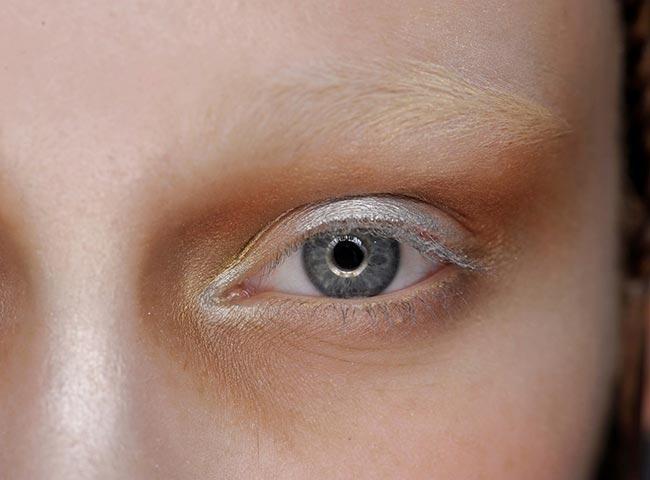 Holiday 204 Metallic Makeup Ideas: Alexander McQueen