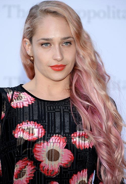 Pretty Pastel Hair Color Ideas: Jemima Kirke