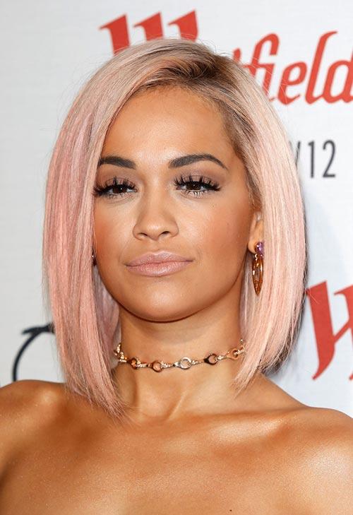 Pretty Pastel Hair Color Ideas: Rita Ora