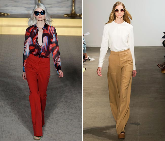 Spring/ Summer 2015 Seventies Fashion Trend