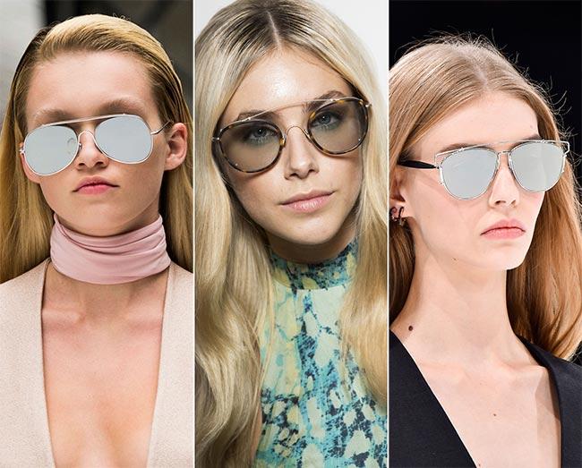 Spring/ Summer 2015 Eyewear Trends: Aviator Sunglasses
