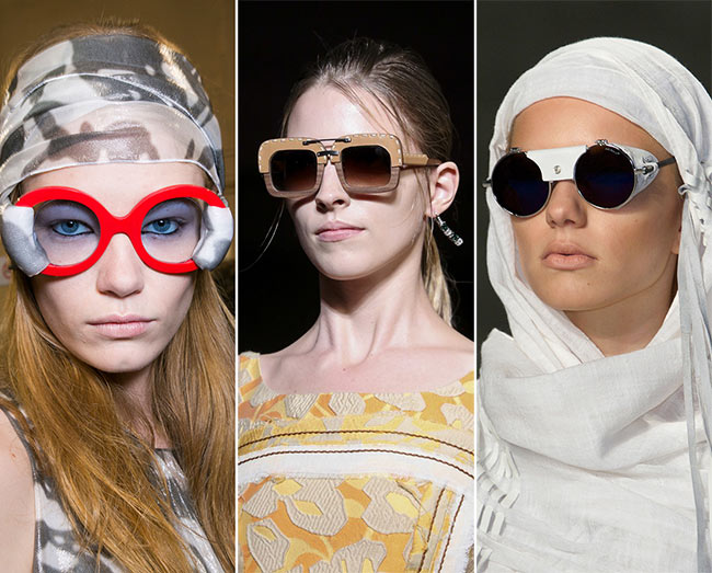 Spring/ Summer 2015 Eyewear Trends: Extravagant and Unique Sunglasses