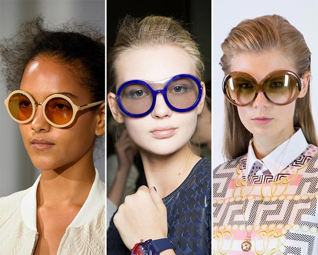 Spring/ Summer 2015 Eyewear Trends: Round Sunglasses