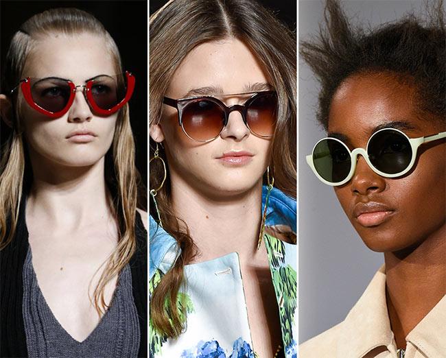 Spring/ Summer 2015 Eyewear Trends: Semi-Rimless Sunglasses